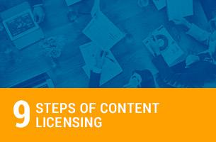 9 Steps of Content Licensing