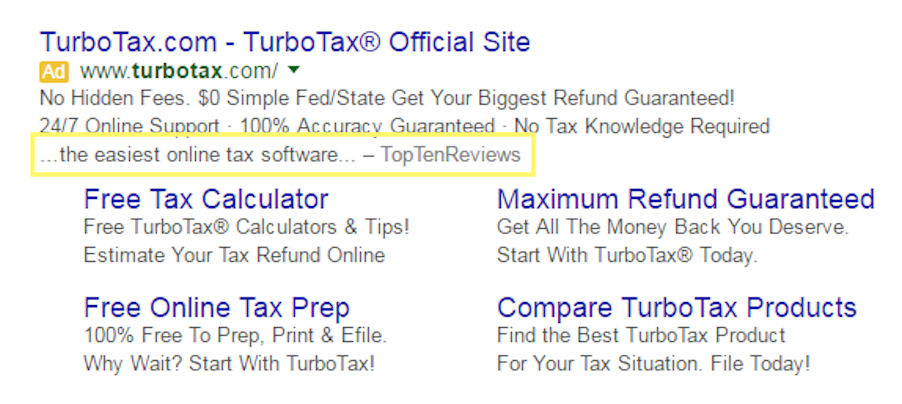 turbo tax earned media